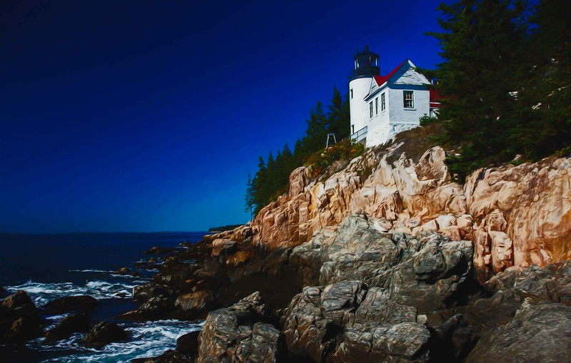 Bass Harbor Head light, Maine  #7