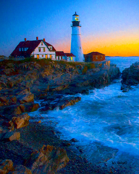 Portland Head Light, Maine sunrise #2