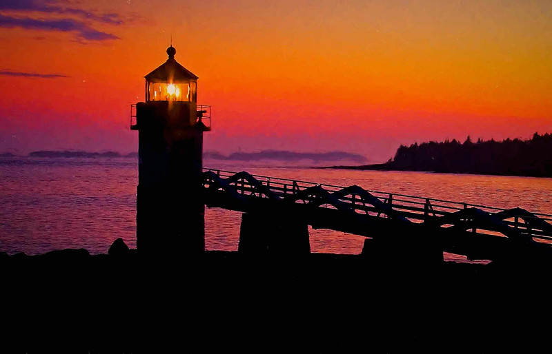 Marshall Point Light, Port Clyde,Maine