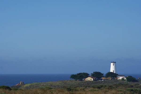 Piedras Blancas lighthouse, near San Simeon, CA