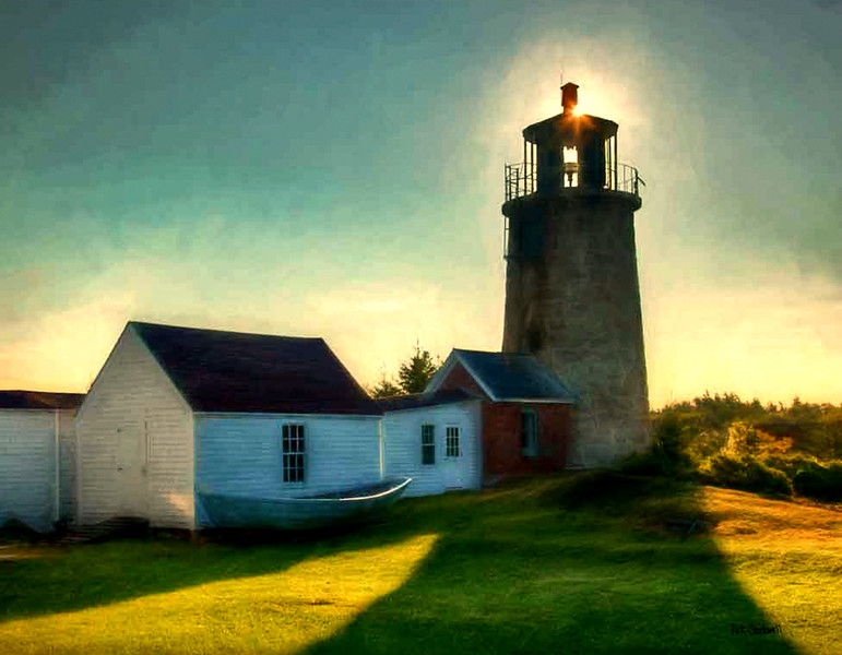 Monhegan  Island lighthouse, Maine #2