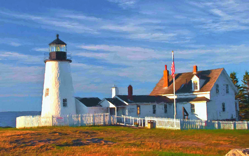 Pemequid Point Lighthouse, Maine