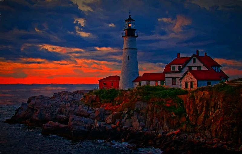 Portland Head Light,Maine