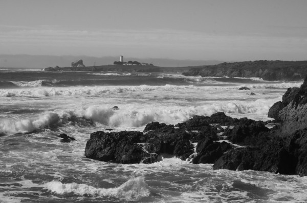 Piedras Blancas Lighthouse, near San Simeon, Ca.