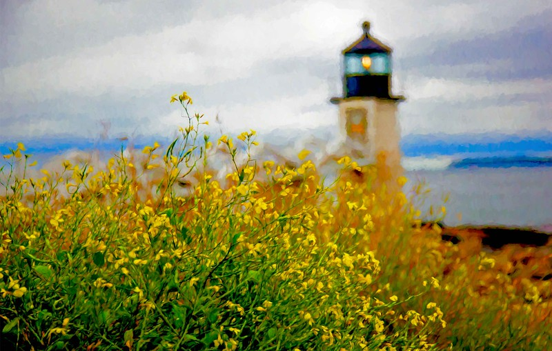 Lighthouse yellow