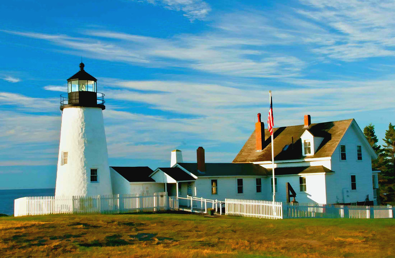 Pemequid Point Lighthouse, Maine side #2