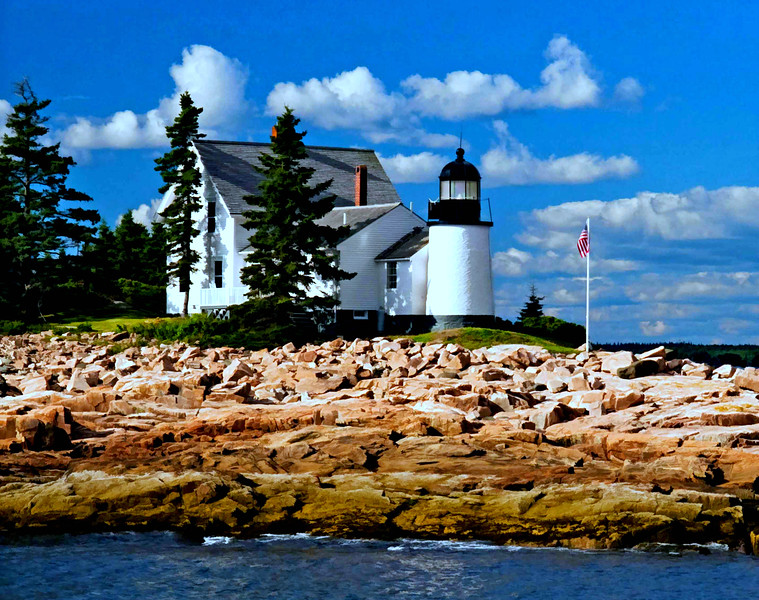 Maine coast light