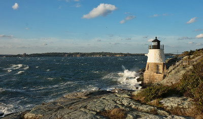 CASTLE HILL LIGHTHOUSE NEWPORT RI