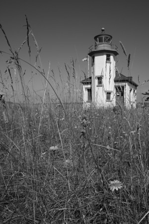 Point Robinson lighthouse.  Vashon Island, WA