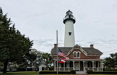 St. SIMON 'S ISLAND LIGHTHOUSE