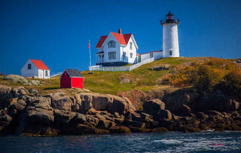 Nubble Light..Cape Neddick, Maine #2