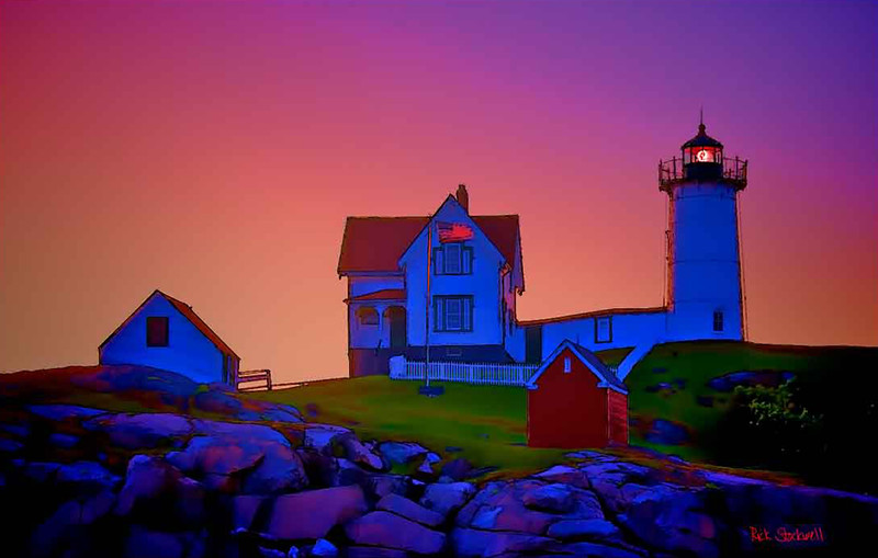 Nubble Light..Cape Neddick, Maine