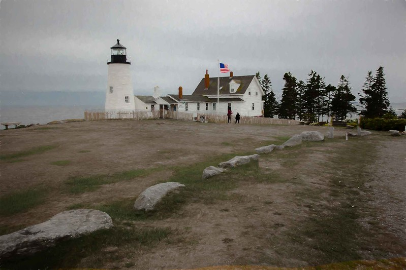 Pemequid Point Lighthouse, Maine side #3