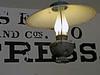 HANGING LAMP IN COLUMBIA, CALIFORNIA