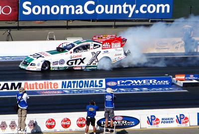 NHRA Drag Racing, Sonoma CA 2008-10