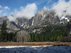 YG14-12 YOSEMITE FALLS FROM AHWAHNEE MEADOW