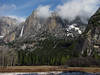 YG14-13 YOSEMITE FALLS FROM AHWAHNEE MEADOW