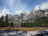 YG14-15 YOSEMITE FALLS FROM AHWAHNEE MEADOW