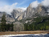 YG14-14 YOSEMITE FALLS FROM AHWAHNEE MEADOW