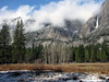 YG14-6 YOSEMITE FALLS FROM AHWAHNEE MEADOW