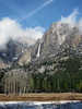 YG14-10 YOSEMITE FALLS FROM AHWAHNEE MEADOW