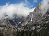 YG14-7 YOSEMITE FALLS FROM AHWAHNEE MEADOW