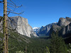 YG13-14 YOSEMITE VALLEY FROM ABOVE TUNNEL VIEW