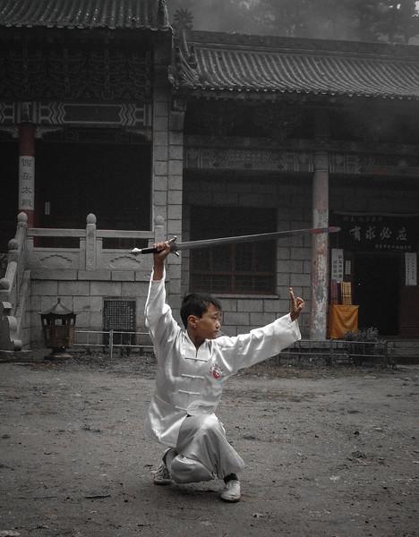 THAI CHI  DOCUMENTARY IN CHINA