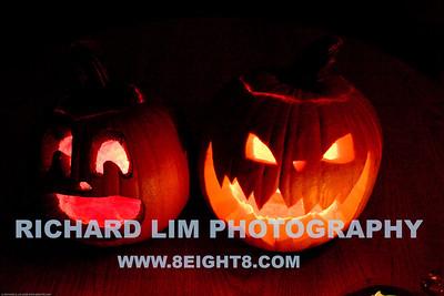 Katie & Rachel's pumpkins.