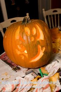 Madi's pumpkin.