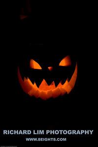 Rachel's pumpkin.