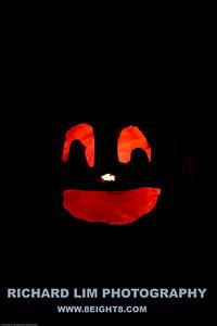 Katie's pumpkin.
