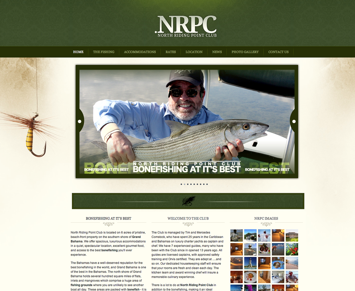 """North Riding Point offers some of the very best bonefishing in the world - huge fish on pristine white sand flats. I had four double-figure bonefish in two days here with my brilliant guide Leroy. Tim & Mercedes are the perfect hosts - check out <a href=""""http://northridingpointclub.net/index/"""">http://northridingpointclub.net/index/</a>"""