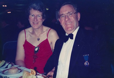 Lion Lew Hart and Janet Hart