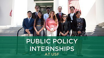 Support Public Policy Internship Programs at USF