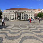TEATRO NACIONAL DONA MARIA II  -  Lisboa  -  Lisbonne
