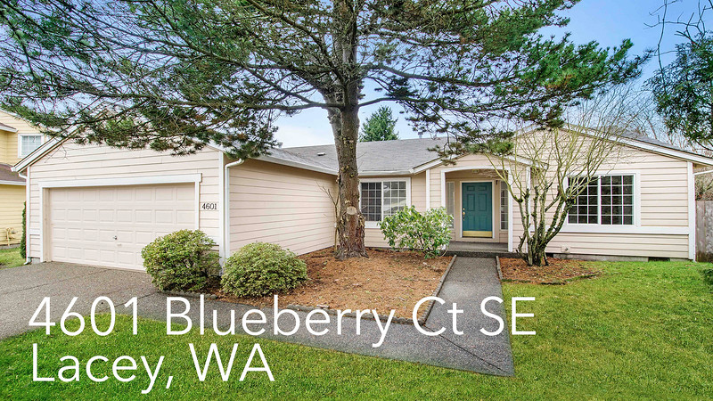 4601 Blueberry Ct SE, Lacey, WA