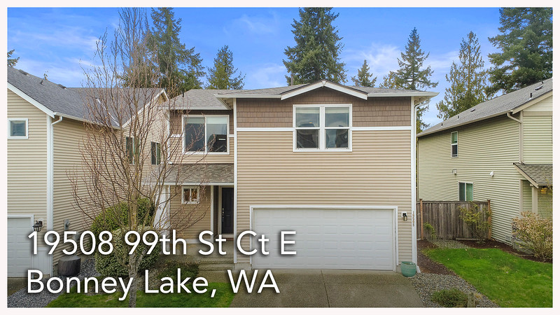 19508 99th St Ct E, Bonney Lake