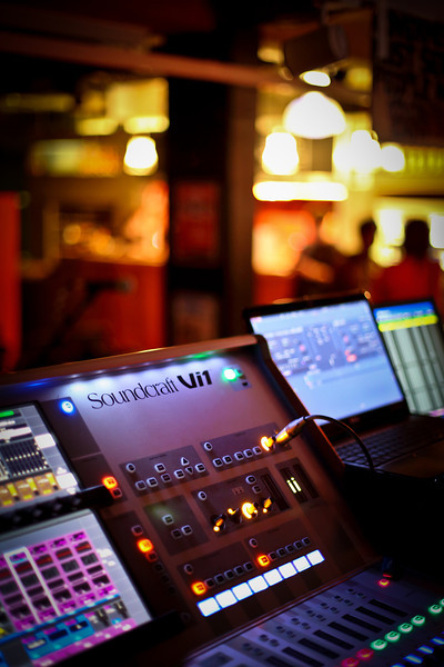 Sound and Lighting Desks