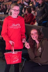 Lindt Chocolate Volunteers