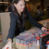 Food Network employees volunteer to pack and sort boxes of food during the Food Network Food Bank: Pantry Box Packing event held in New York City. Fifity-one Employees gather to pack 800 boxes, 7,200 meals. Their efforts with help two of Food Bank For New York City Member Agencies in the Bronx where they'll be distributed directly to hungry New Yorkers.