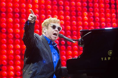 Elton John performing onstage Live At The Marquee Cork. Picture Darragh Kane