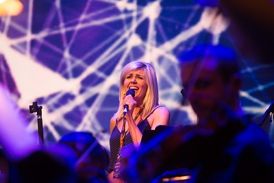 DKANE  17062017 REPRO FREE DJ Jennie Greene and singer Gemma Sugrue performing with the Rte Concert Orchestra at Live at the Marquee Cork  Picture Darragh Kane