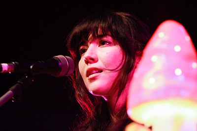 Lisa Hannigan preforming live onstage at the Opera House, Cork