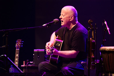 Christy Moore performing at Live At The Marquee Cork. Picture Darragh Kane