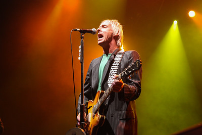 Paul Weller from The Jam and The Style Council performing on stage at Live At The Marque Cork.  PIC DARRAGH KANE