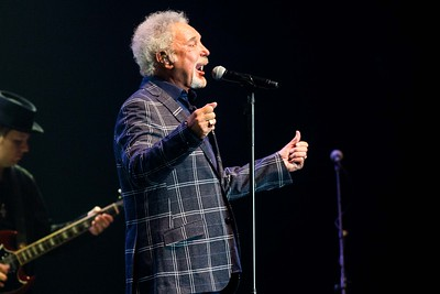 Tom Jones performing Live at the Marquee Cork. Pic Darragh Kane