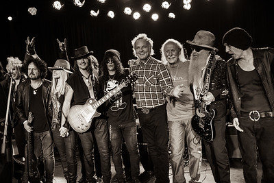 Adopt the Arts honors Butch Trucks and Billy Gibbons; The Roxy; Los Angeles; 12.19.2015
