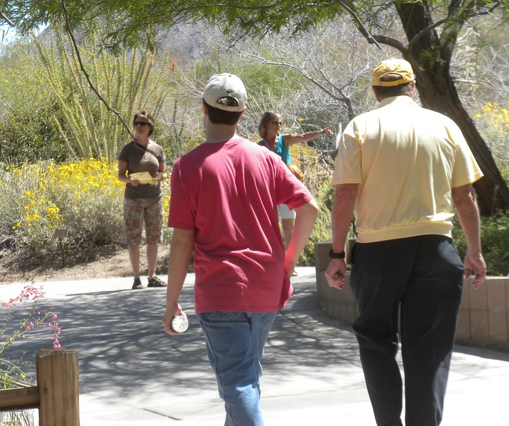 The Living Desert in Palm Desert with Paul and Betty.