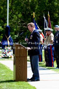 """Opening remarks by John """"Skip"""" Bushart, CMSGT, USAFR, Ret (President, Fallen Heroes Memorial Foundation."""